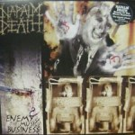 Napalm Death - Enemy Of The Music Business (LP, Album, RE).jpeg