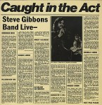 Steve Gibbons Band - Caught In The Act (LP, Album).jpeg