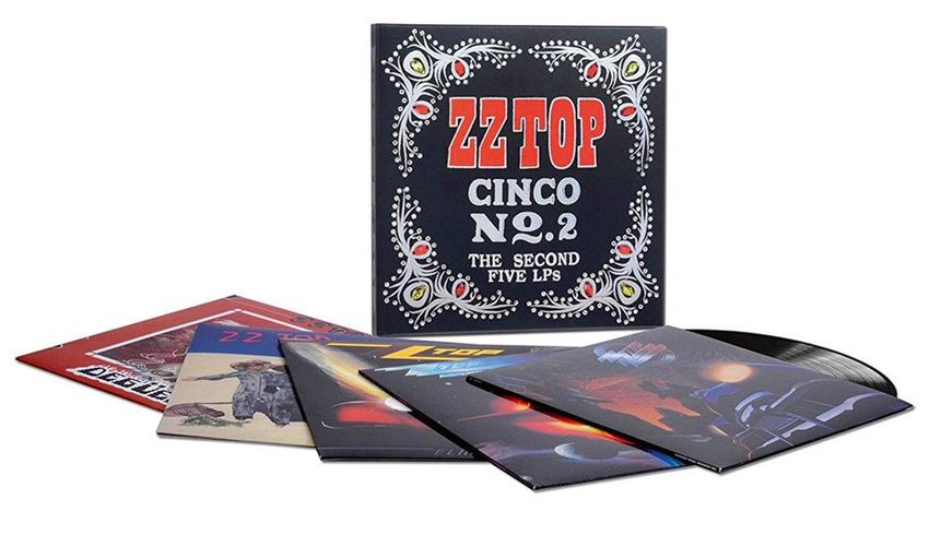 ZZ Top Cinco: The Second Five 5 LP s Vinyl lemez kollekció